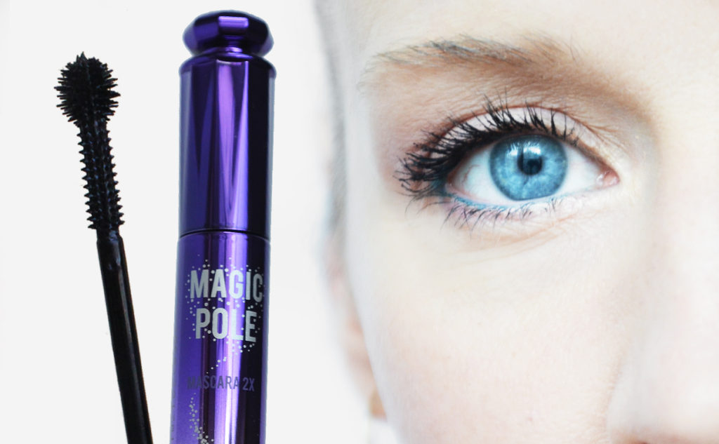 Review Holika Holika Magic Pole Mascara from Korea volume long curved lashes Korean makeup K-beauty Blog Europe
