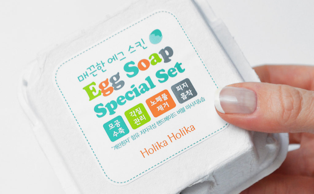 Review Holika Holika Smooth Egg Soap Special Set Facial Soap Cleanser from Korea Korean Skin Care K-Beauty Blog Europe