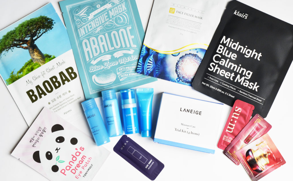 Giveaway Mother's Day win sheet masks and Korean skin care products K-beauty Blog Europe