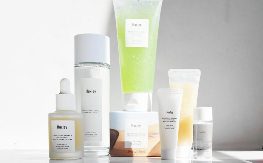 Huxley Best Korean Skin Care from Korea High quality Korean Skin Care K-Beauty Blog Europe
