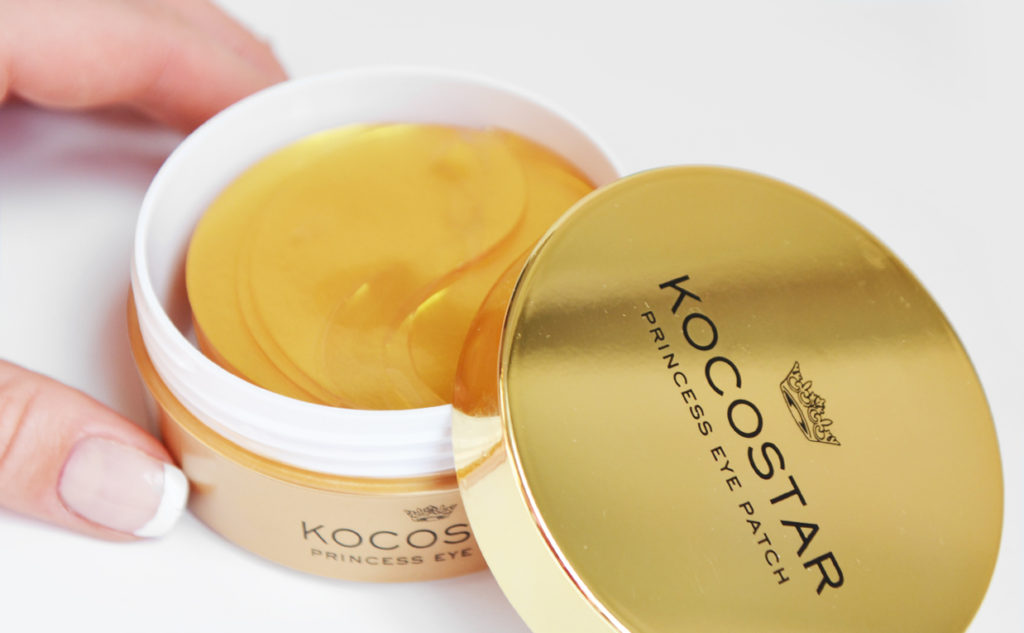 Kocostar Princess Eye Patch Eyes Mask 24K gold mask Korean Skin Care K-Beauty Blog Europe