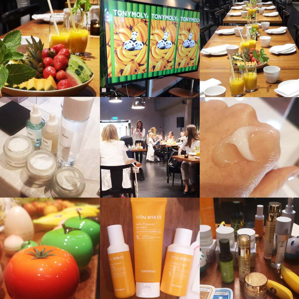 Nordic Beauty Import K-beauty Event Goodie bag Restaurant Farang Korean skin care K-beauty Blog Europe