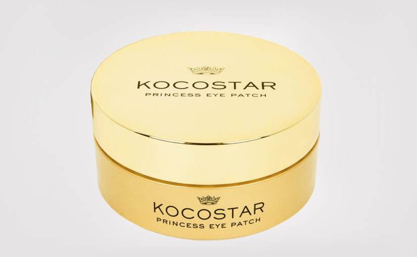 Review Kocostar Princess Eye Patch Eye Mask from Korea 24K Gold Wrinkles Korean Skin Care K-Beauty Blog Europe
