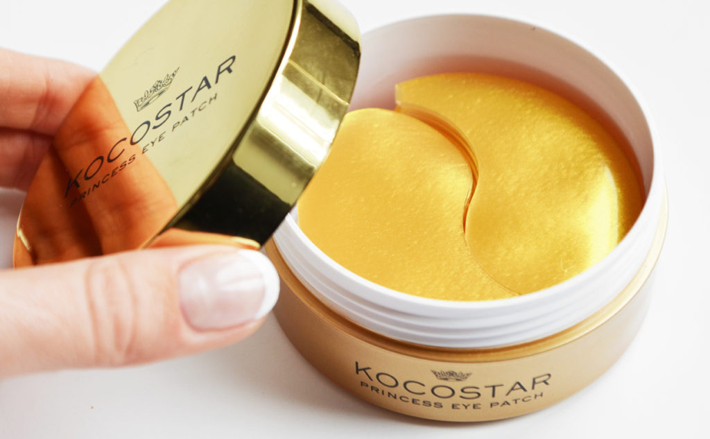 Review Kocostar Princess Eye Patch Eye Mask from Korea 24K Gold Wrinkle Care Korean Skin Care K-Beauty Blog Europe