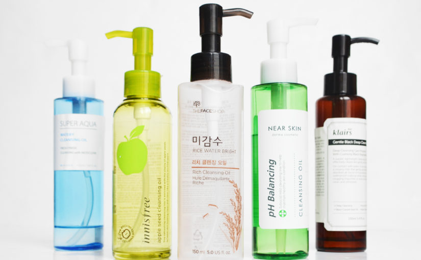 Korean cleansing oils from Korea Korean skin care K-beauty Blog Europe