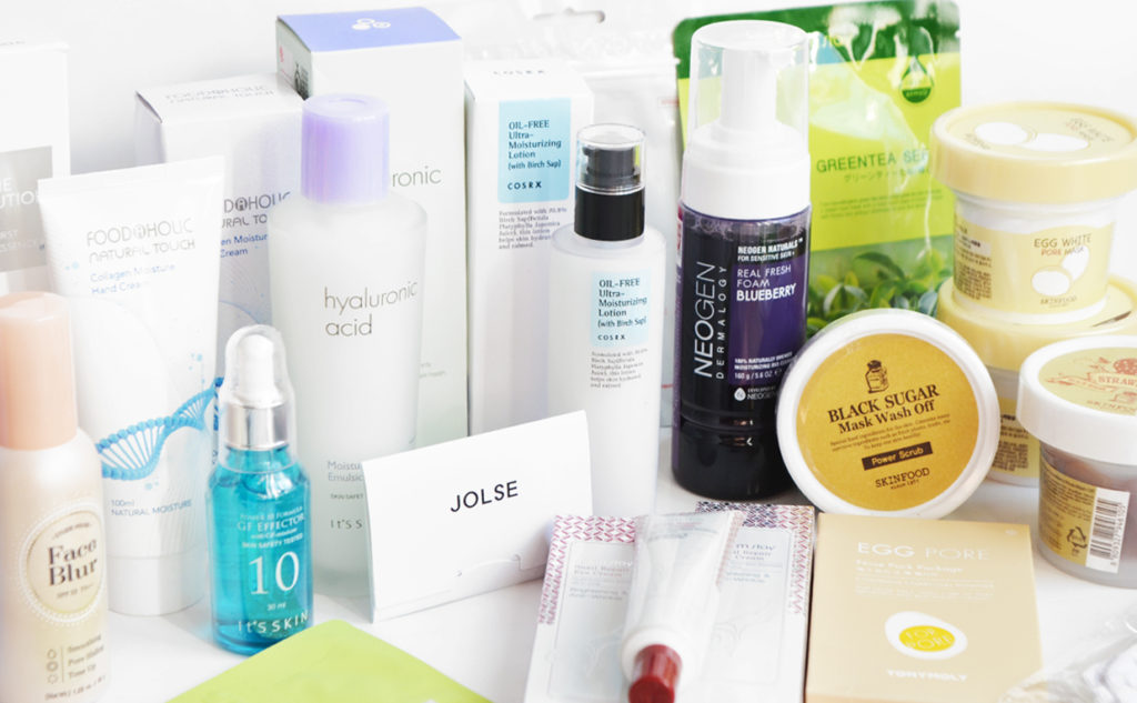 K-beauty Haul Order from JOLSE iamloveshop from Korea Korean skincare K-beauty Blog Europe