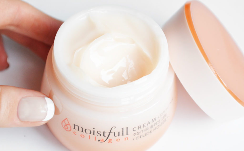 Etude House Moistfull Collagen Cream hydrating Moisturizing Face Cream from Korea combination Skin Korean Skin Care K-beauty Blog Europe