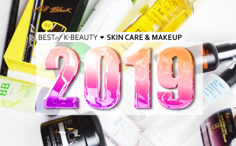 Best K-beauty Favorites 2019 Best Skin Care Makeup from Korea Korean Skin Care K-beauty Blog Europe