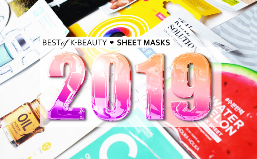 Best Korean sheet masks 2019