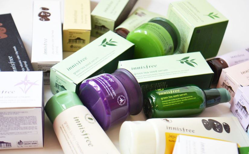 Innisfree 3 best skin care lines!