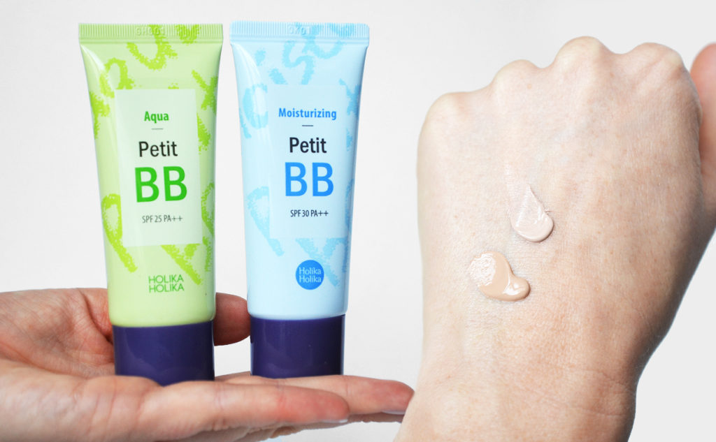 Review Holika Holika Aqua Petit BB Cream from Korea dry skin mature skin Korean makeup K-beauty Blog Europe
