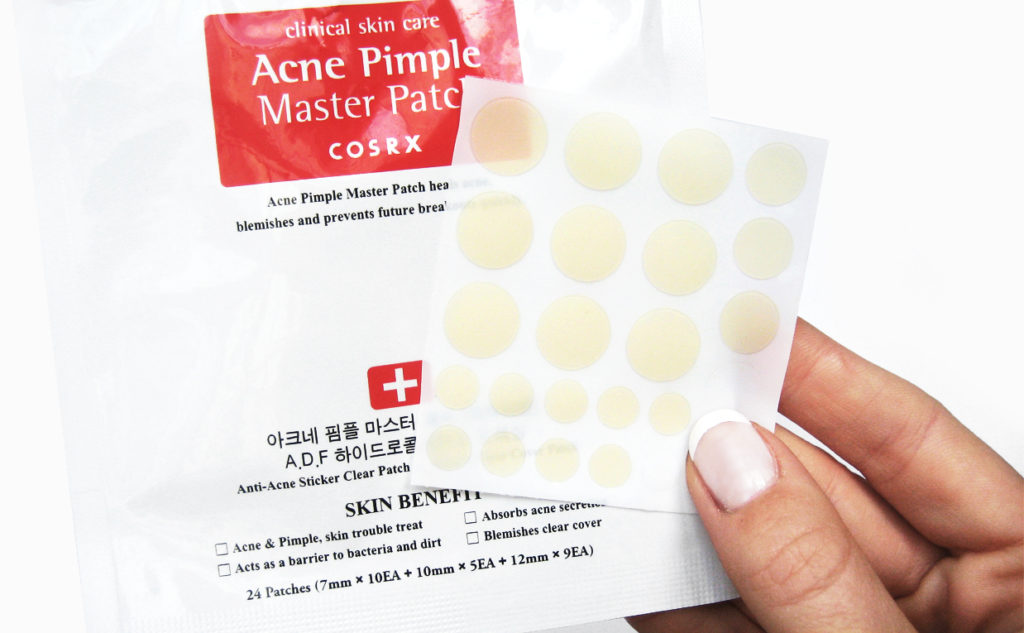 Cosrx Acne Pimple Master Patch pimples acne prone skin Korean skin care K-beauty Blog Europe