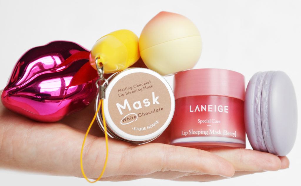 Korean lip balms lip balm from Korea Laneige It's Skin Tonymoly Etude House K-beauty Blog Europe