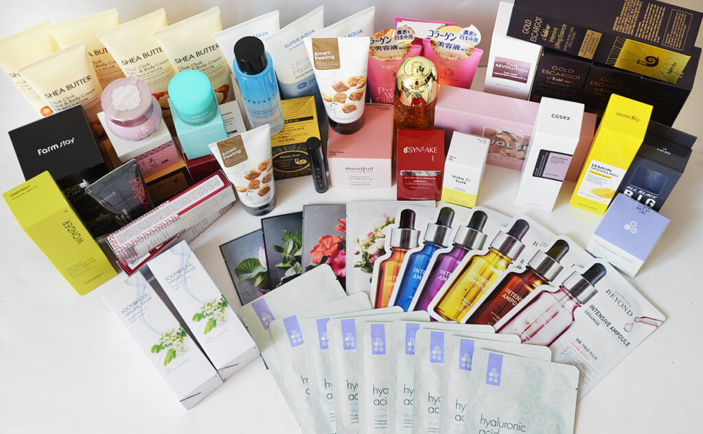 Ordering from JOLSE €400 Korean skin care shipping from Korea K-beauty Blog Europe