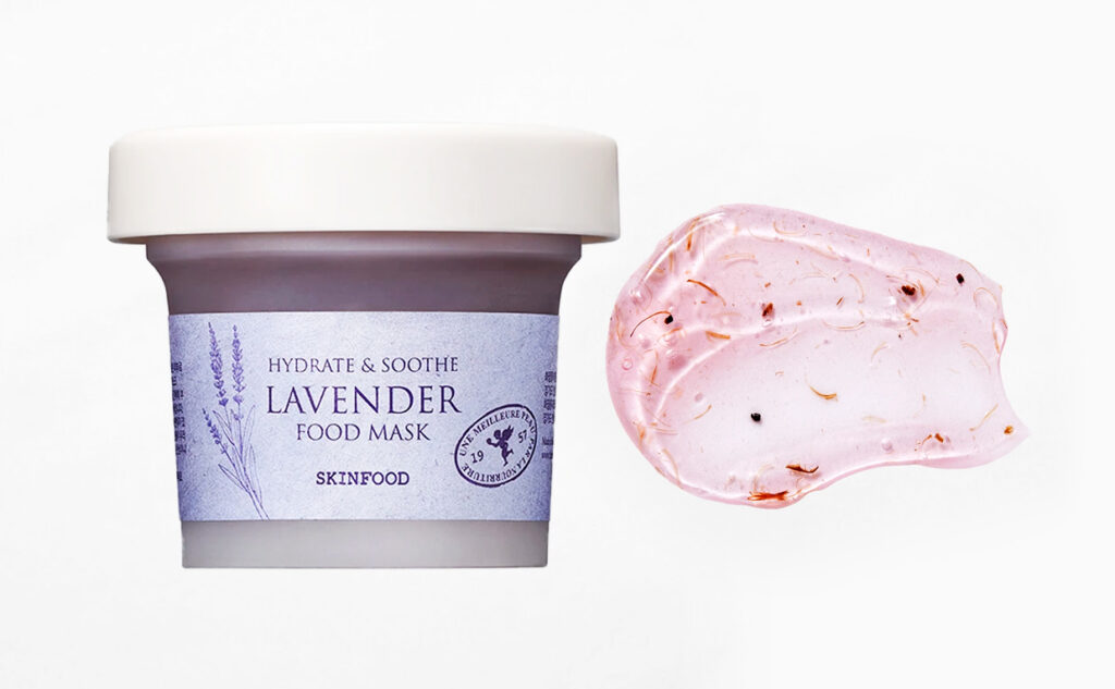 Skinfood Lavender Food Mask hydrate & soothe soothing facial mask from Korea Korean skin care K-beauty Blog Europe