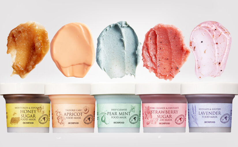 New Skinfood Food Mask<br>-5 facial masks for all skin types