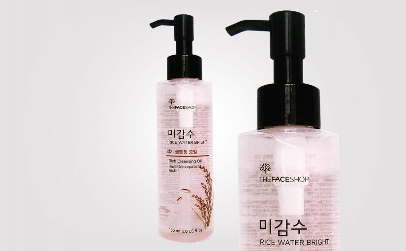 Beställt från Korea, Thefaceshop Rice Water Bright Rich Cleansing Oil