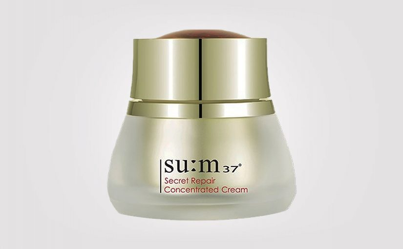 FIRST IMPRESSION: SU:M37 Secret Repair Concentrated Cream Rich. K-beauty Sverige