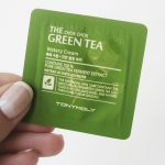 Imorgon: Recension av TonyMoly The Chok Chok Green Tea Watery Cream