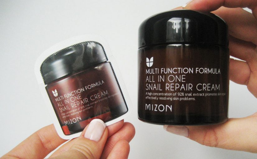 Video recension på Mizon All In One Snail Repair Cream