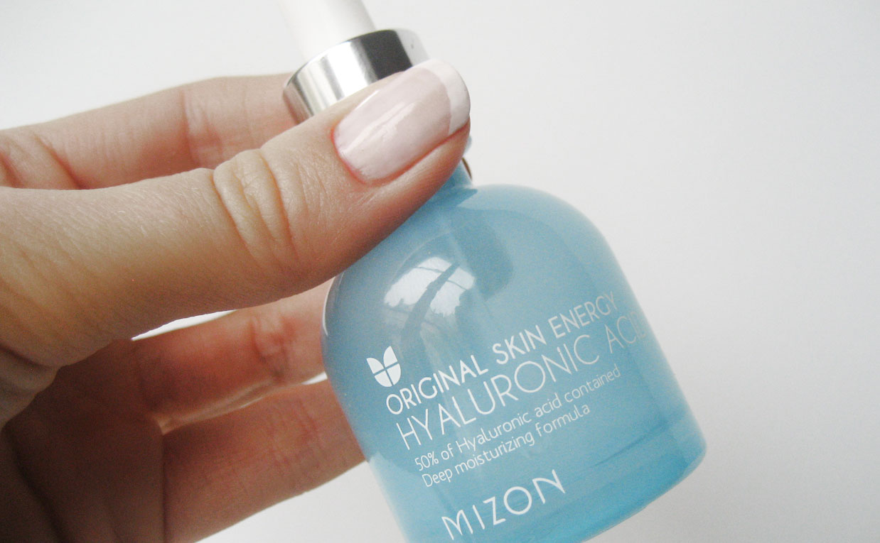 Imorgon kommer en full recension av Mizon Hyaluronic acid 100 serum koreansk hudvard K-beauty Sverige