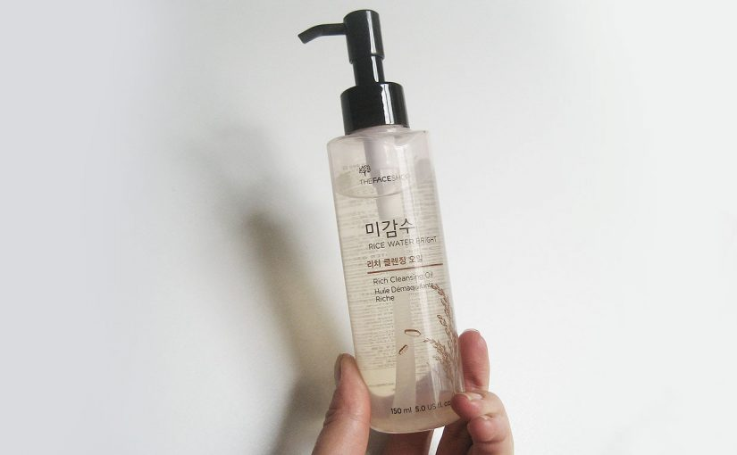 Video review på Thefaceshop Rice Water Bright Rich Cleansing Oil