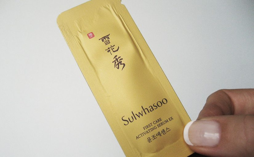 Imorgon en recension på Sulwhasoo First Care Activating Serum EX
