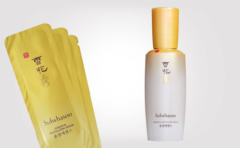 Video recension på Sulwhasoo Essential Revitalizing Serum. Koreansk hudvård K-beauty Sverige