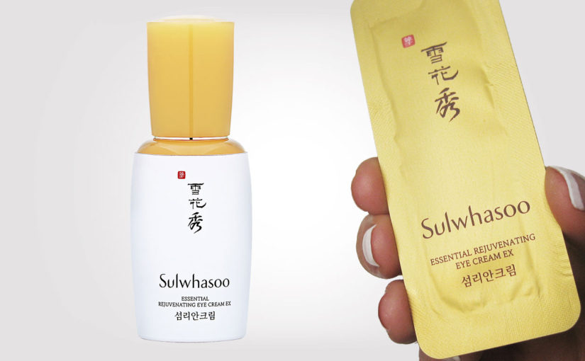 Video recension Sulwhasoo Essential Rejuvenating Eye Cream EX. Koreansk hudvård K-beauty Sverige
