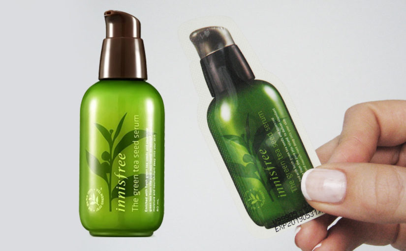 Video recension på Innisfree The Green Tea Seed Serum