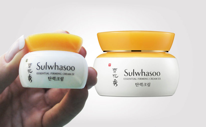Video recension på koreanska ansiktskrämen Sulwhasoo Essential Firming Cream EX