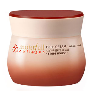 Etude House Moistfull Collagen Deep Cream VS Clinique Moisture Surge Intense Koreansk hudvård K-beauty Sverige