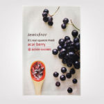 FIRST IMPRESSION: Innisfree It's Real Squeeze Mask – Acai Berry