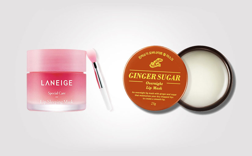 Laneige Lip Sleeping Mask och Aritaum Ginger Sugar Overnight Lip Mask torra läppar, Koreansk hudvård K-beauty Sverige