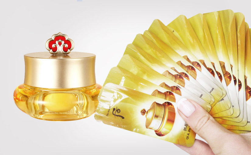 The History Of Whoo Gongjinhyang Qi & Jin Eye Cream ögonkräm från Korea