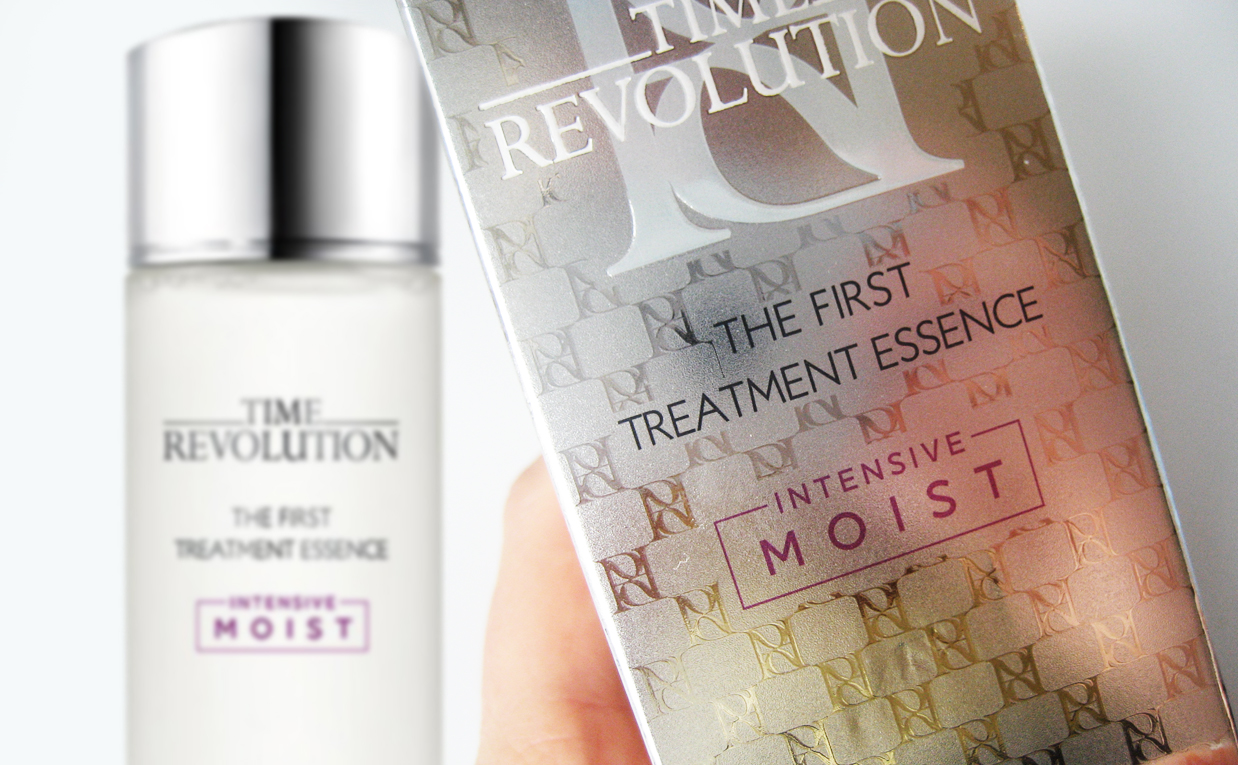 First impression recension Missha Time Revolution The First Treatment Essence Intensive Moist koreansk hudvård K-beauty Sverige