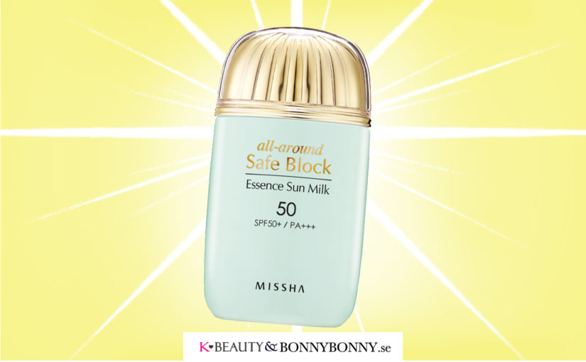 MÅNADENS PRODUKT: Missha All-around Safe Block Essence Sun Milk SPF50 PA+++