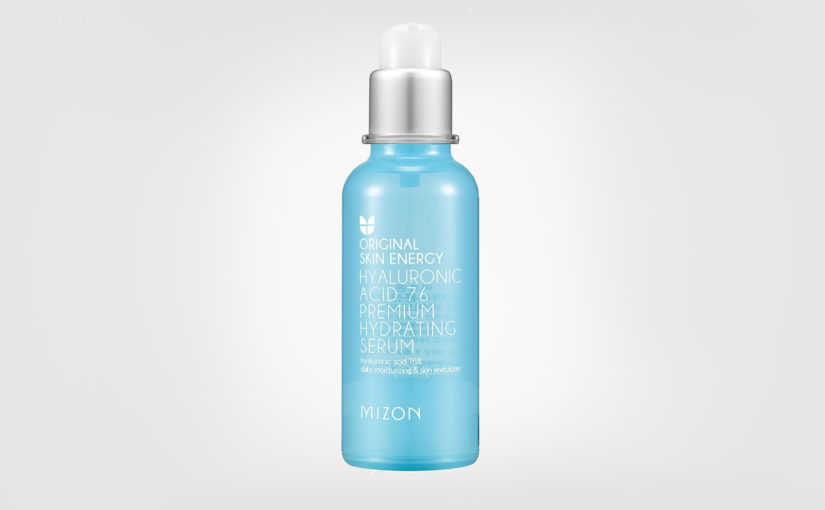 First impression recension Mizon Original Skin Energy Hyaluronic Acid 76 Premium Hydrating Serum från Korea K-beauty Sverige