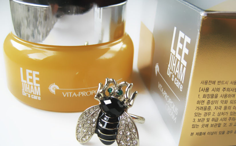 LJH Leejiham Vita Propolis Cream, ny typ av produkt video i K-beauty Blogg.