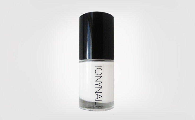FIRST IMPRESSION: Tonymoly Tonynail Nail Polish #D33 True White
