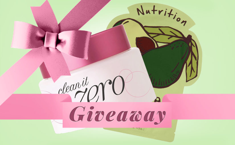 GIVEAWAY: Banila Co Clean It Zero + Tonymoly sheet mask