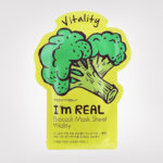 FIRST IMPRESSION: TonyMoly I'm Real Mask Sheet Broccoli