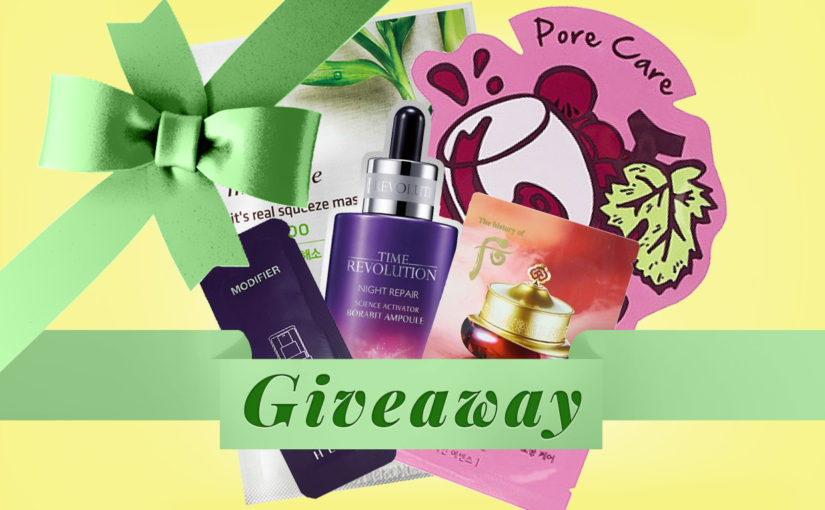 GIVEAWAY: Koreanska sheet masks + samples