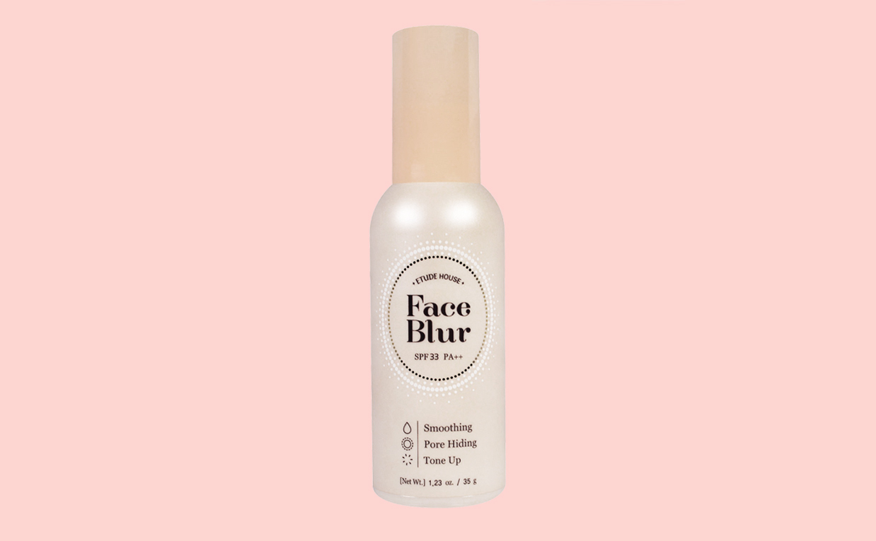 Köpa Etude House Face Blur Primer SPF33/PA++ från Korea K-beauty webbshop Koreansk makeup K-beauty Blogg Sverige
