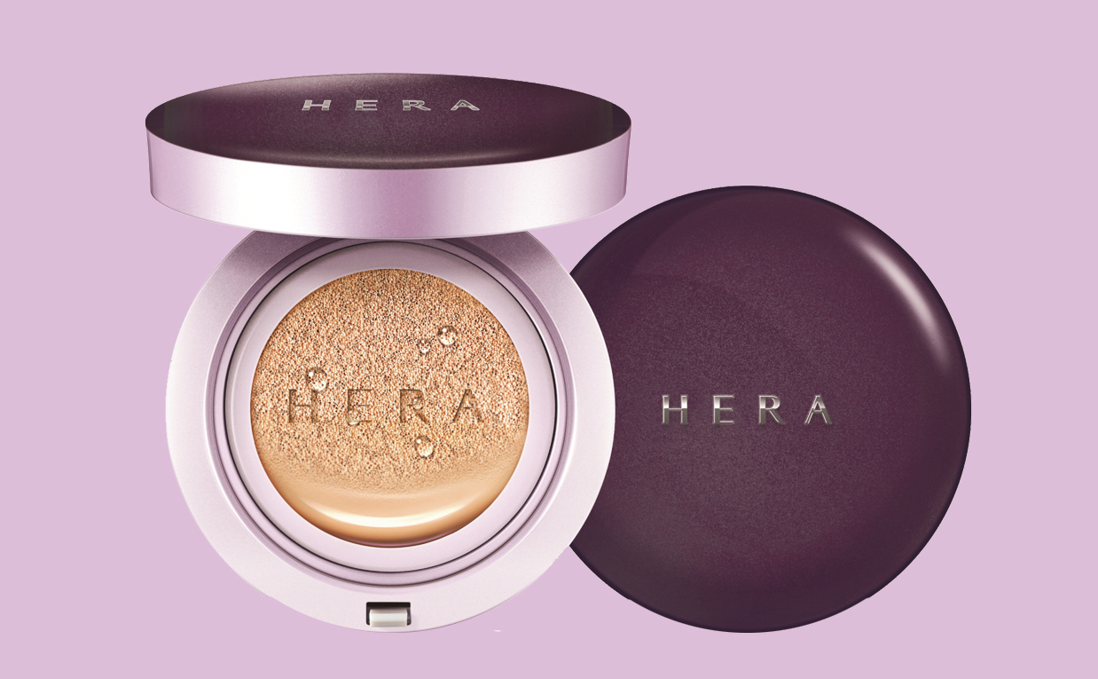 Köpa HERA UV Mist Cushion Ultra Moisture SPF 34PA++ cushion foundation från Korea. K-beauty webbshop Koreansk hudvård