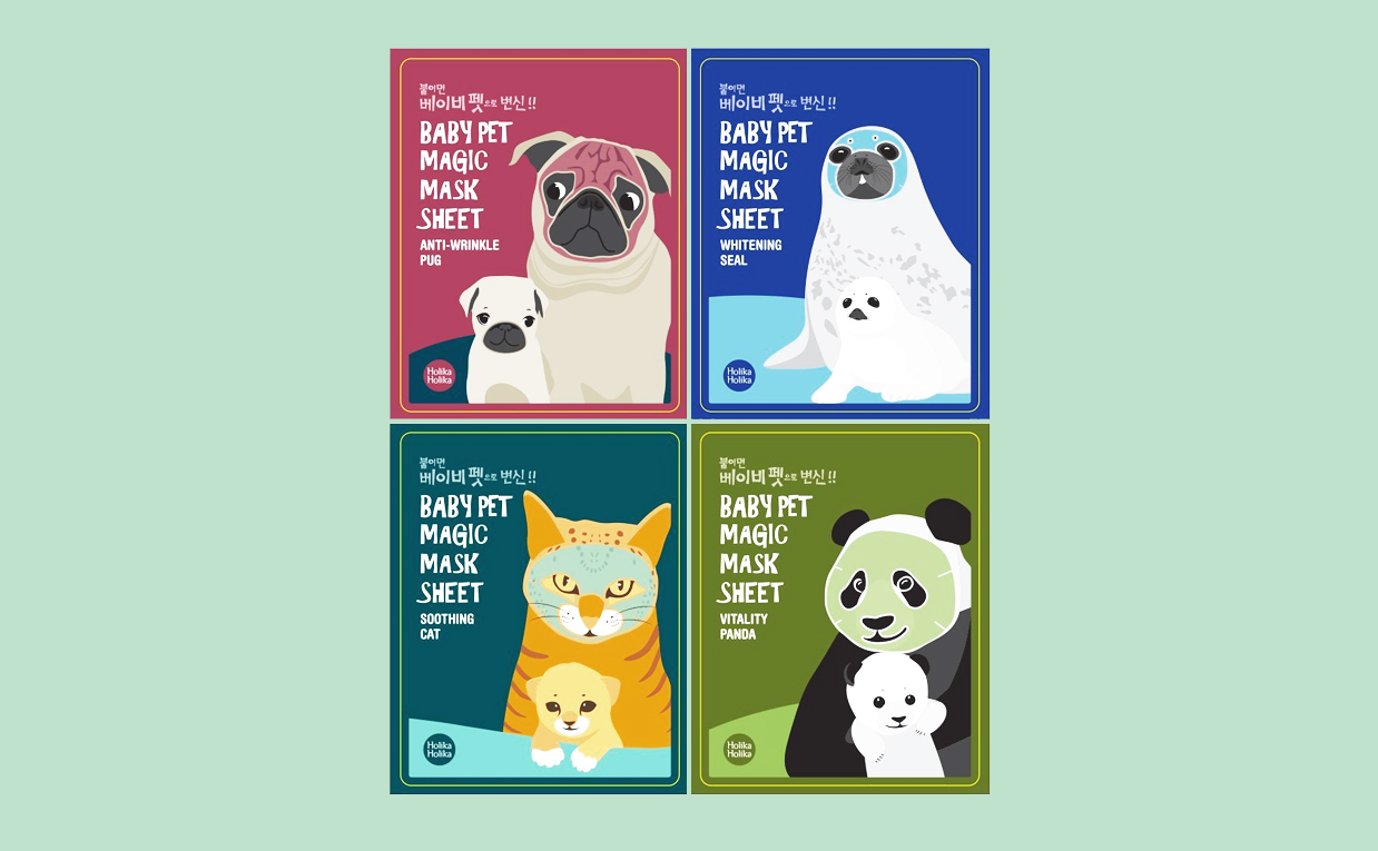 Köpa Holika Holika Baby Pet Magic Mask Sheet mask från Korea K-beauty webbshop