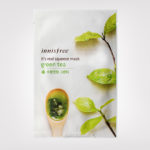 FIRST IMPRESSION: Innisfree It's Real Squeeze Mask Green Tea