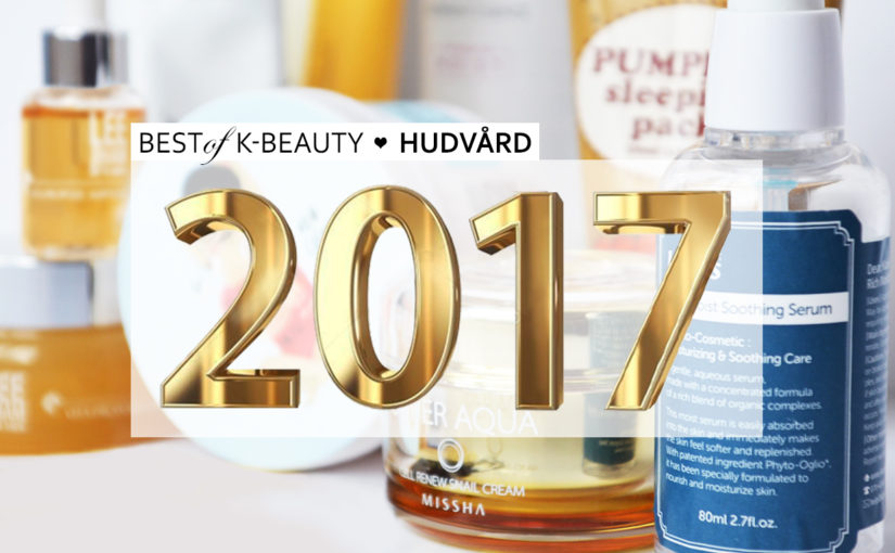 Best of Beauty Bästa Koreansk hudvård 2017 K-beauty Blogg Sverige