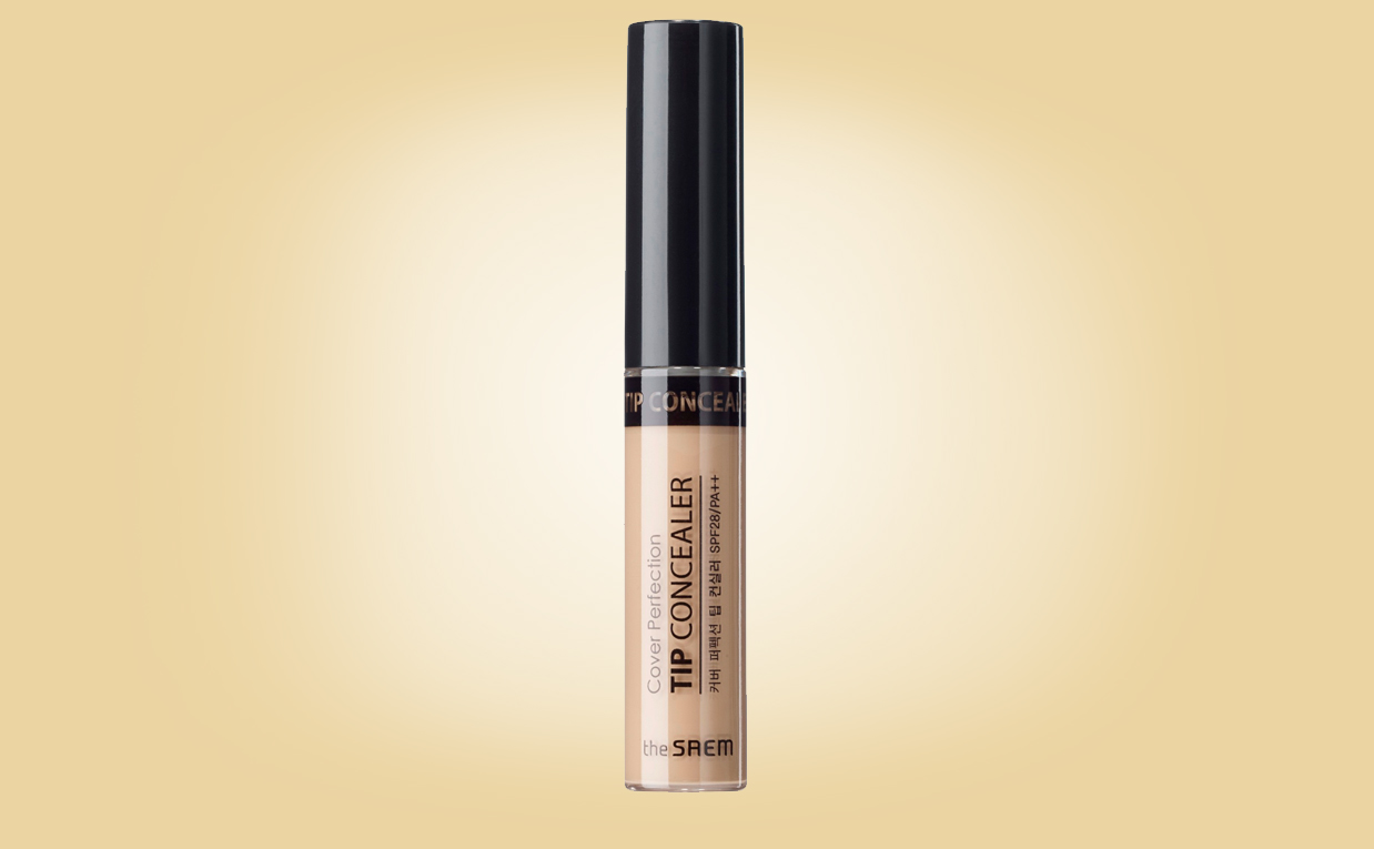 Köpa The Saem Cover Perfection Tip Concealer från Korea k-beauty webshop