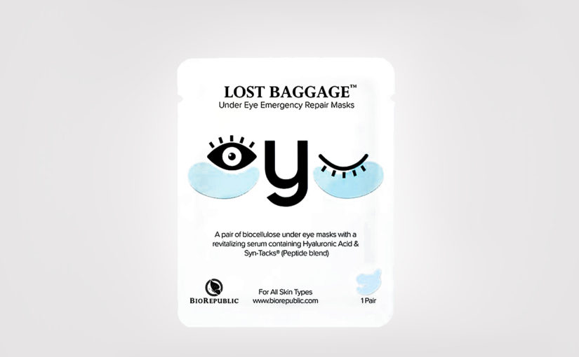 FIRST IMPRESSION: BioRepublic Lost Baggage Under Eye Emergency Repair Mask